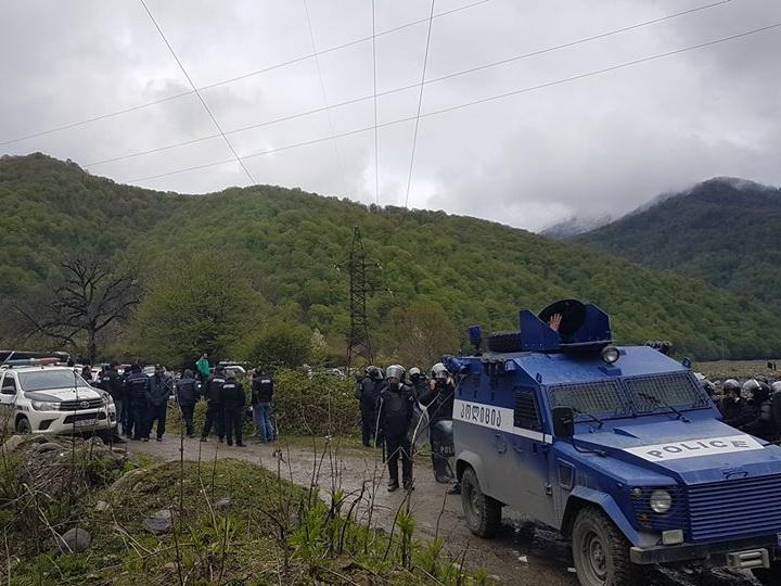 Более 40 человек пострадали при столкновениях в Панкисском ущелье в Грузии
