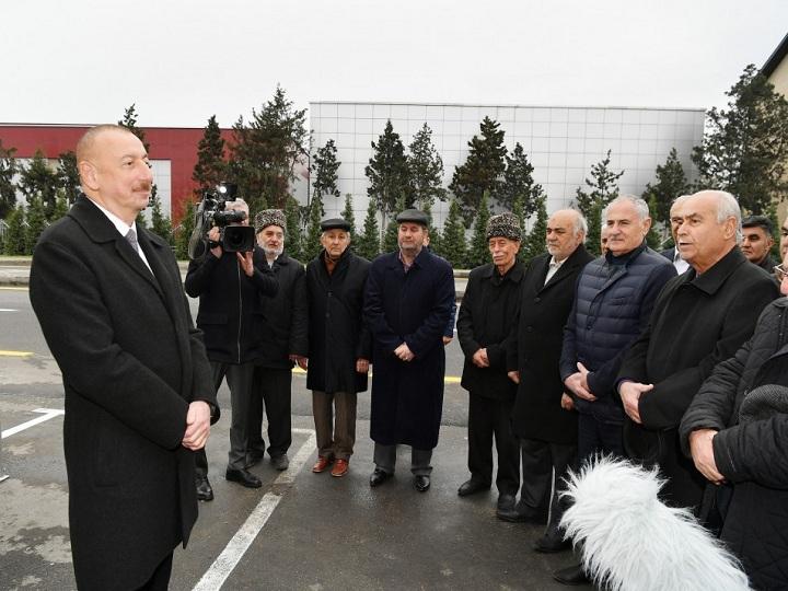 Prezident İlham Əliyev Mərdəkan-Qala avtomobil yolunun açılışında iştirak edib - YENİLƏNİB