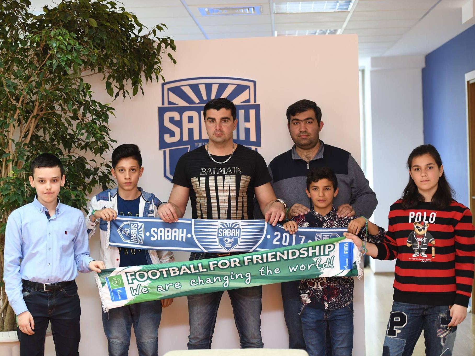 """""""Sabah"""" """"Dostluq üçün futbol"""" layihəsində iştirakından danışıb – FOTO"""