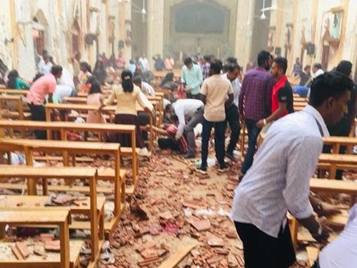 ИГИЛ взяло ответственность за теракты на Шри-Ланке