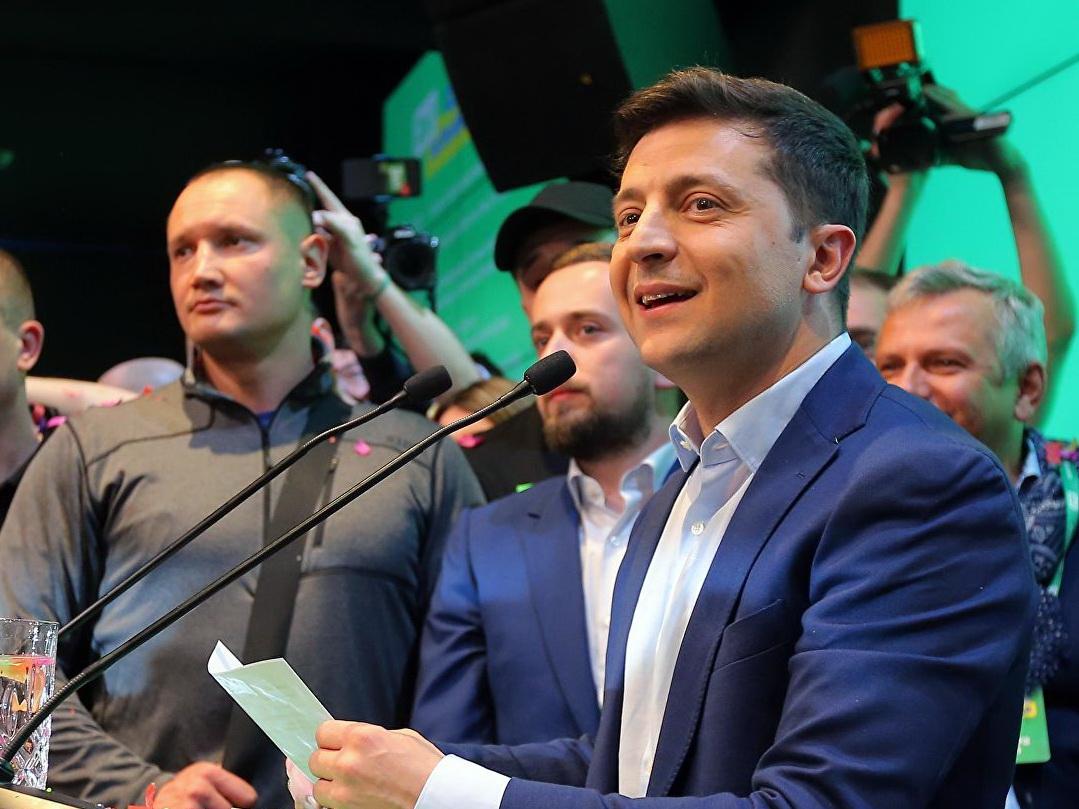 ЦИК Украины объявил о победе Зеленского на президентских выборах