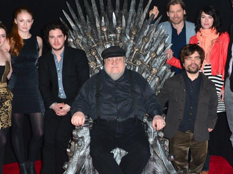 Писатель Джордж Мартин впервые заговорил о развязке «Игры престолов» - ФОТО – ВИДЕО
