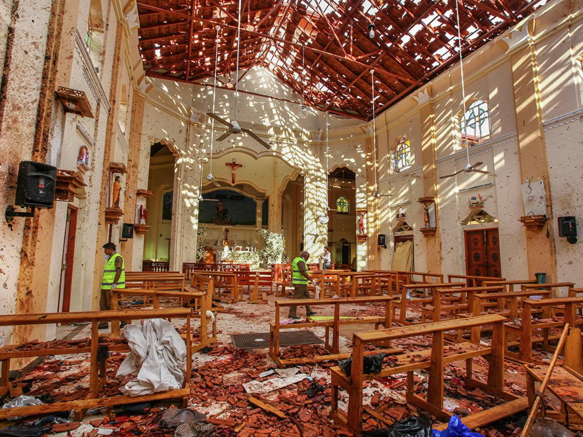 Гутерреш предложил Шри-Ланке помощь в расследовании терактов