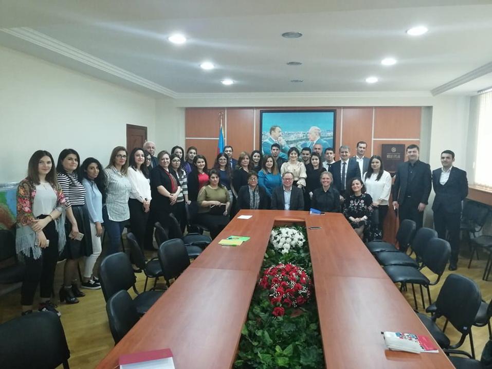 Финские синоптики поделились опытом с азербайджанскими коллегами – ФОТО