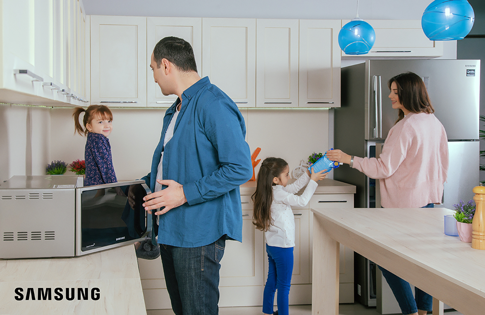 Рецепт счастья для каждой семьи – бытовая техника от Samsung