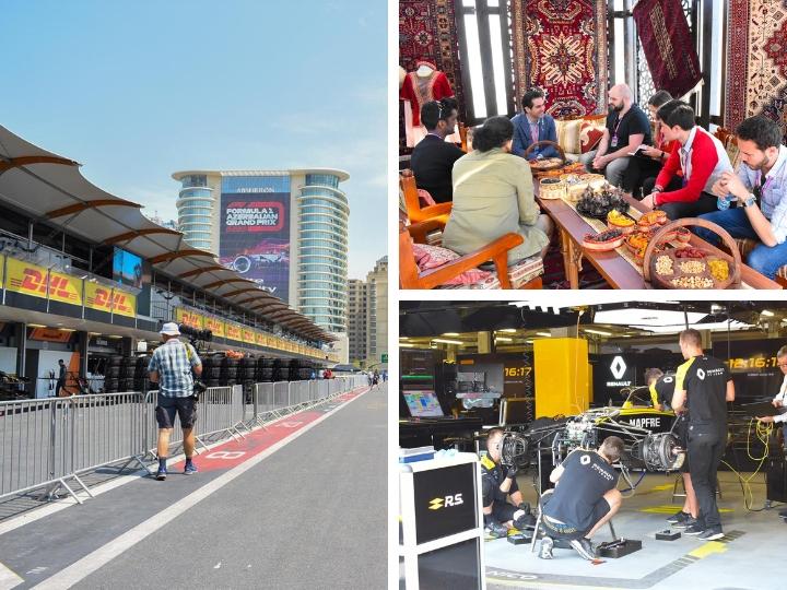 Как выглядит паддок и пит-лейн Baku City Circuit – ФОТО