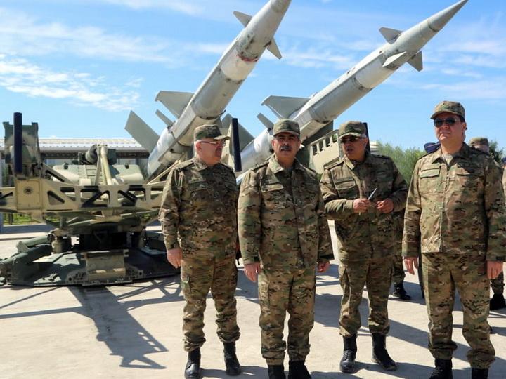 Министр обороны Азербайджана принял участие в открытии нового командного пункта авиабазы ВВС - ФОТО - ВИДЕО