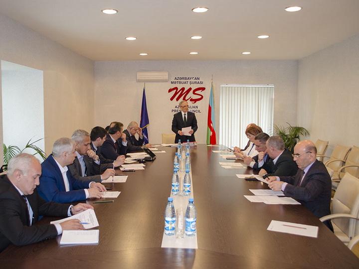 Совет по прессе подвел итоги работы за последние три месяца – ФОТО