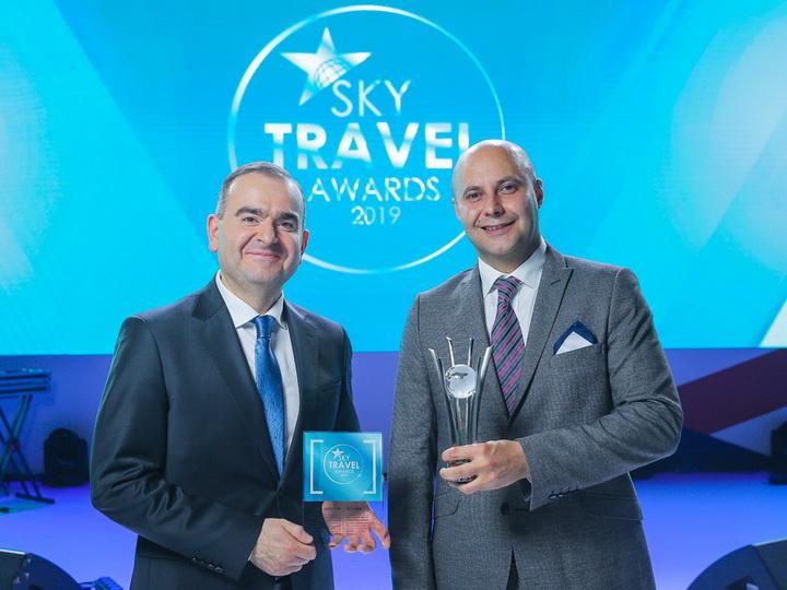Международный аэропорт Гейдар Алиев назван лучшим по версии Sky Travel Awards - ФОТО