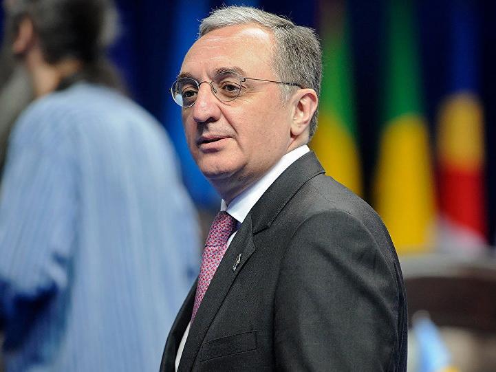 Глава МИД Армении: на данном этапе никакой документ по карабахскому урегулированию не обсуждается