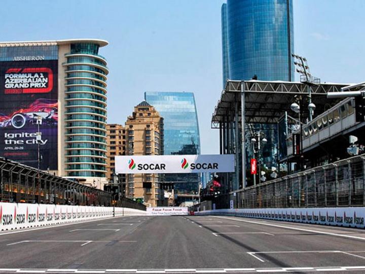 В Баку хотят совместить Гран-при Азербайджана Ф-1 и Евро-2020