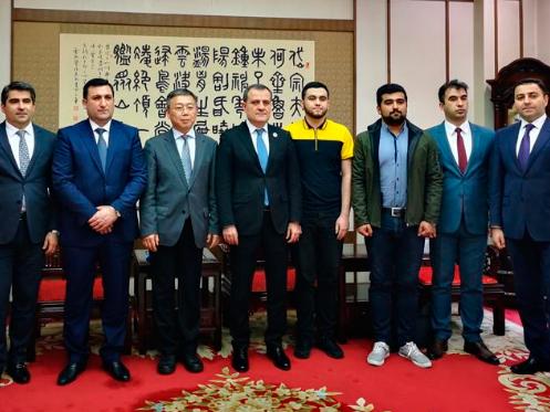 Министр образования Азербайджана встретился со своим китайским коллегой – ФОТО