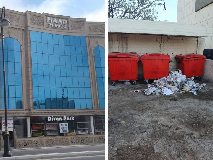 ИВ Баку оштрафовала Дом торжеств, загрязняющий столицу – ФОТО