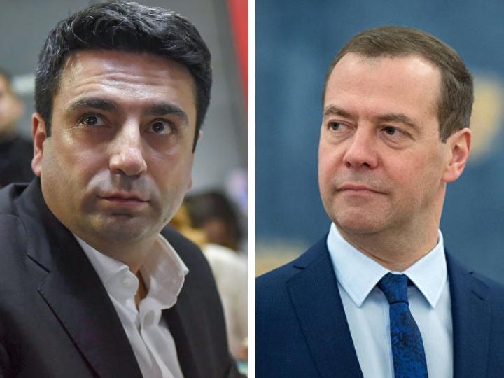 Вице-спикер парламента Армении назвал Дмитрия Медведева бестактным - ВИДЕО