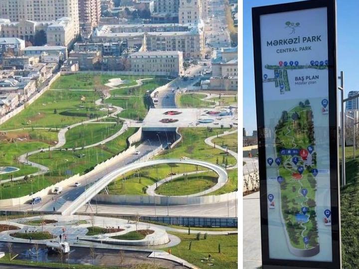 В Баку появится свой «Central Park» - ФОТО