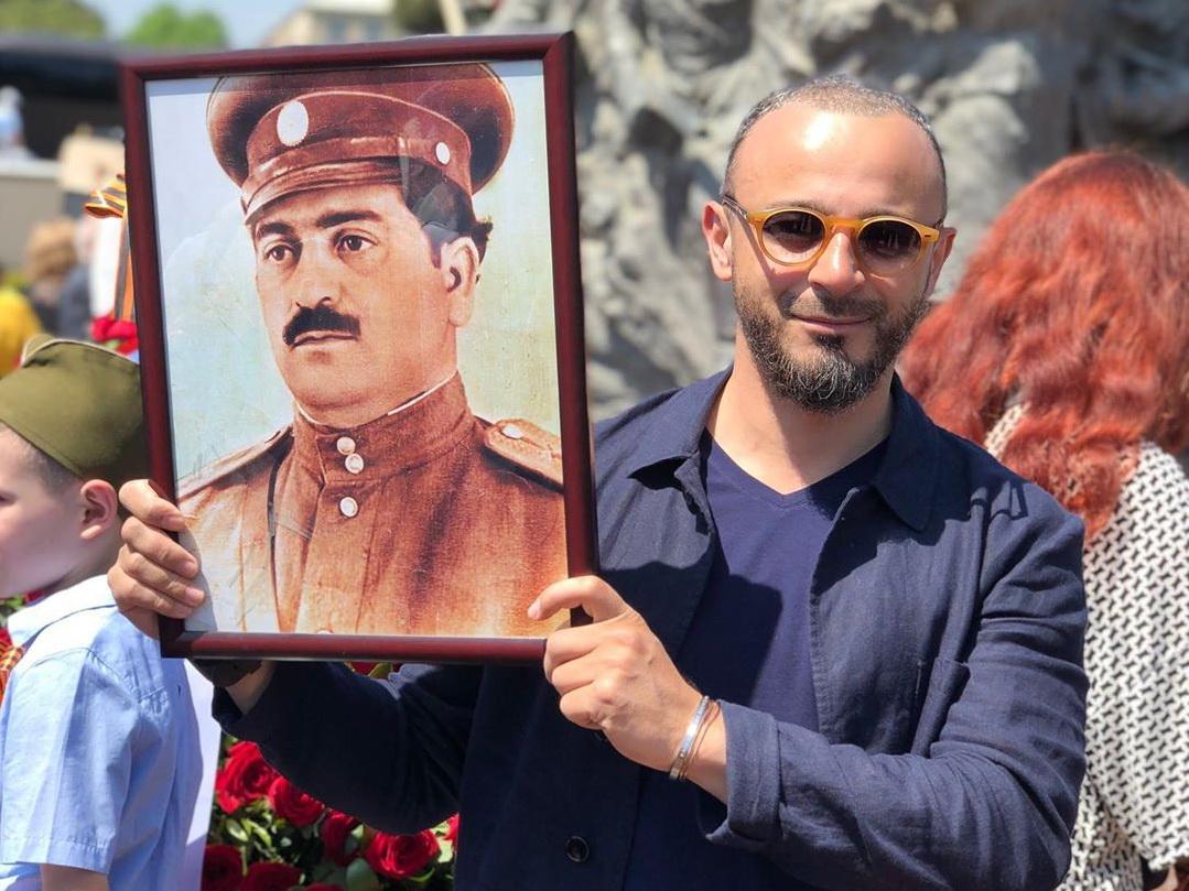 ABD Малик рассказал о дедушке, принимавшем участие во взятии Берлина - ФОТО