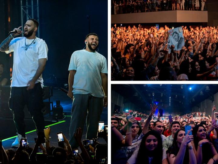 Невероятный ажиотаж на концерте HammAli & Navai в Баку - ФОТО