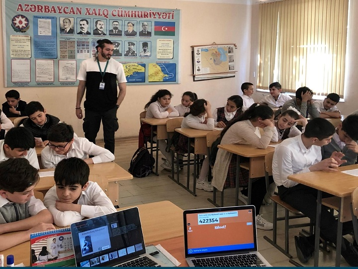 Azercell-in dəstəyi ilə Sumqayıtda kibertəhlükəsizlik təlimləri təşkil olunub – FOTO