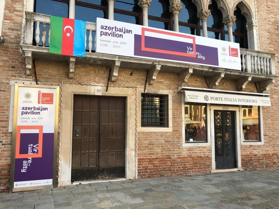 При организации Фонда Гейдара Алиева Азербайджан представлен на 58-й Венецианской биеннале - ФОТО