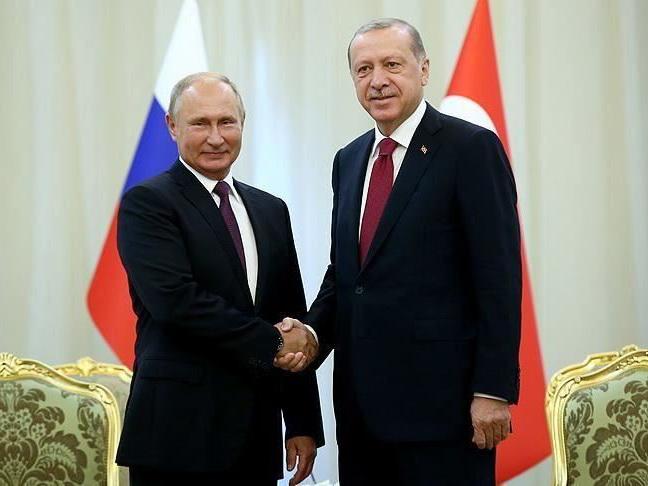 Эрдоган провел телефонный разговор с Путиным
