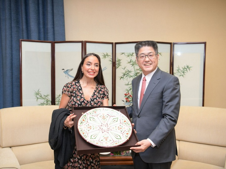 Лейла Алиева встретилась с заместителем министра иностранных дел Китая - ФОТО
