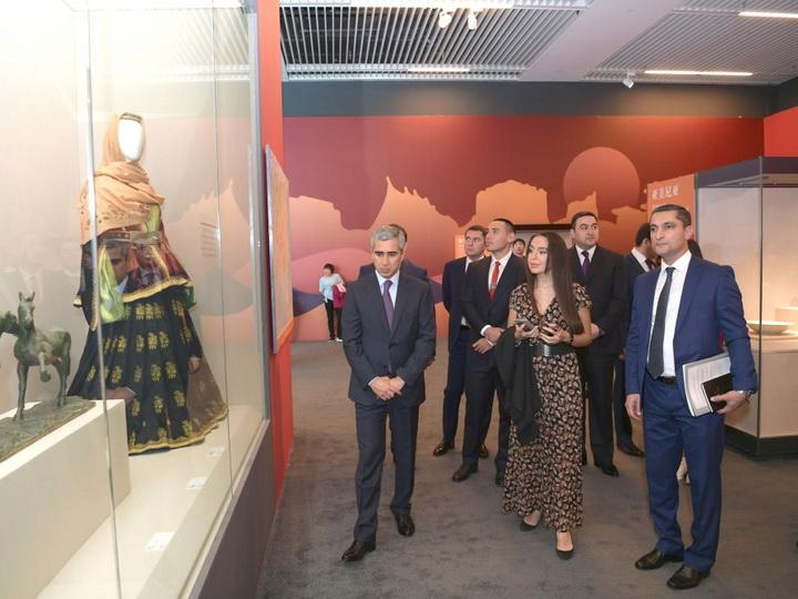 На Ботанической выставке «Пекин Экспо 2019» состоялось официальное открытие Азербайджанского павильона - ФОТО