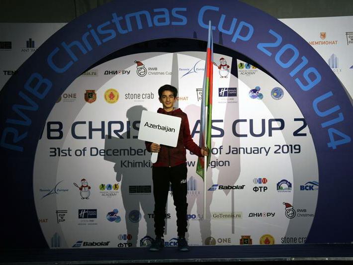 История 14-летнего теннисиста, или Как в Баку рождается новая звезда - ФОТО