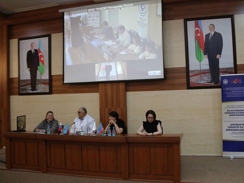 С участием специалистов Национального онкологического центра состоялась телеконференция «Ростов-на-Дону – Баку» - ФОТО