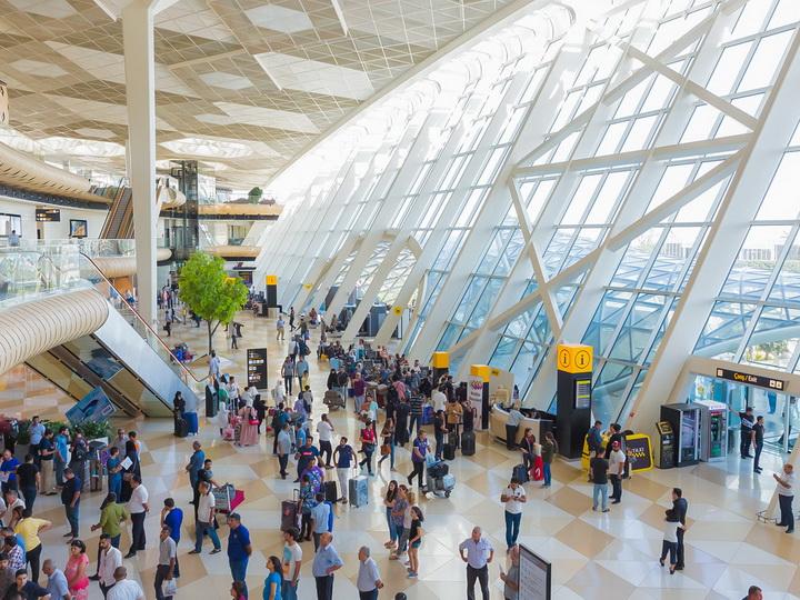 Аэропорты Азербайджана обслужили почти 1,5 млн. пассажиров