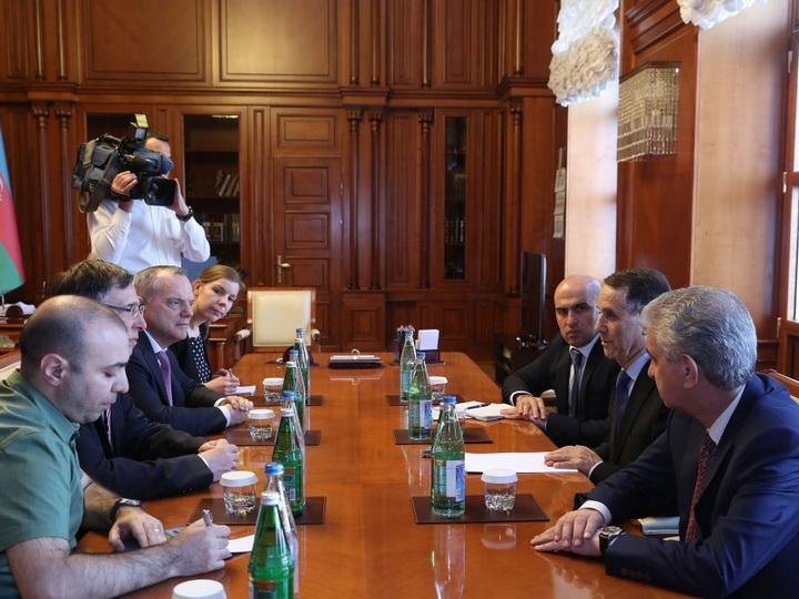 Йоаким Бройер: Азербайджан достиг серьезных успехов в сфере социального обеспечения - ФОТО