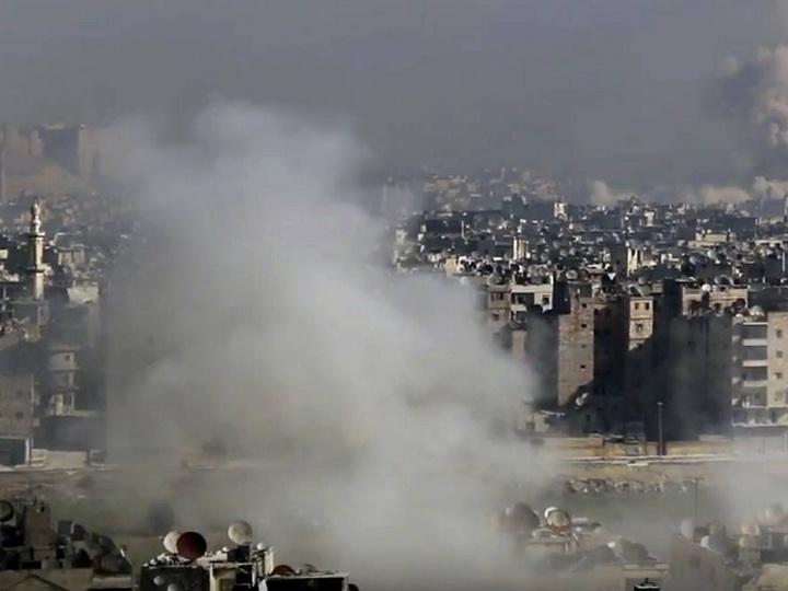 В Алеппо в результате обстрелов боевиков погибли восемь человек