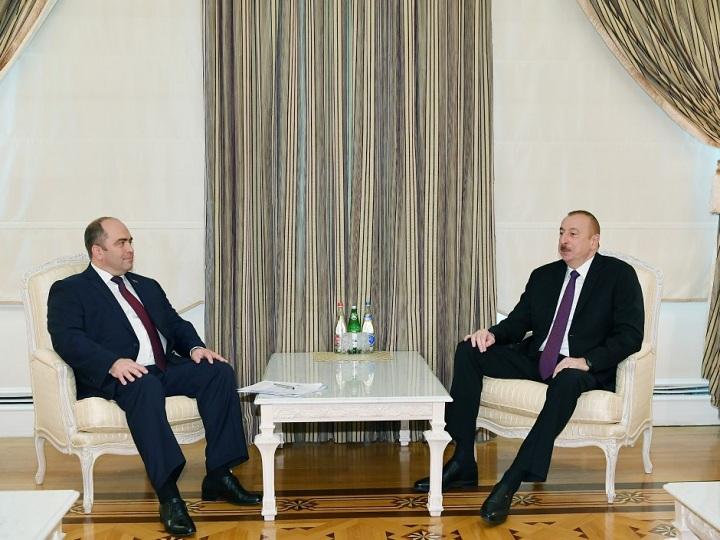 İlham Əliyev Belarusun Baş nazirinin müavinini qəbul edib – YENİLƏNİB