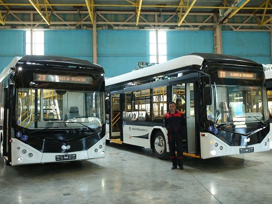В Гяндже начался выпуск новых зерноуборочных комбайнов и электробусов – ФОТО