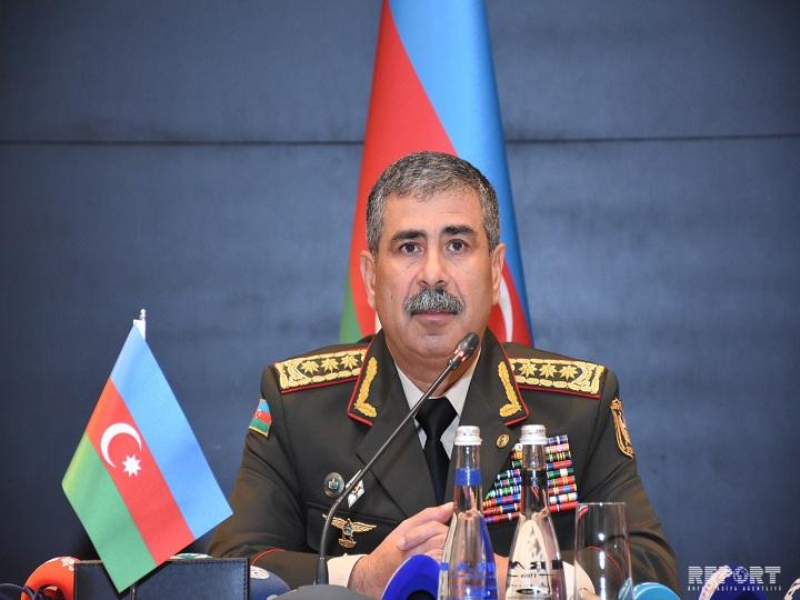 Zakir Həsənov: Azərbaycan Ordusunun şəxsi heyəti yüksək döyüş əzminə və qələbə ruhuna malikdir