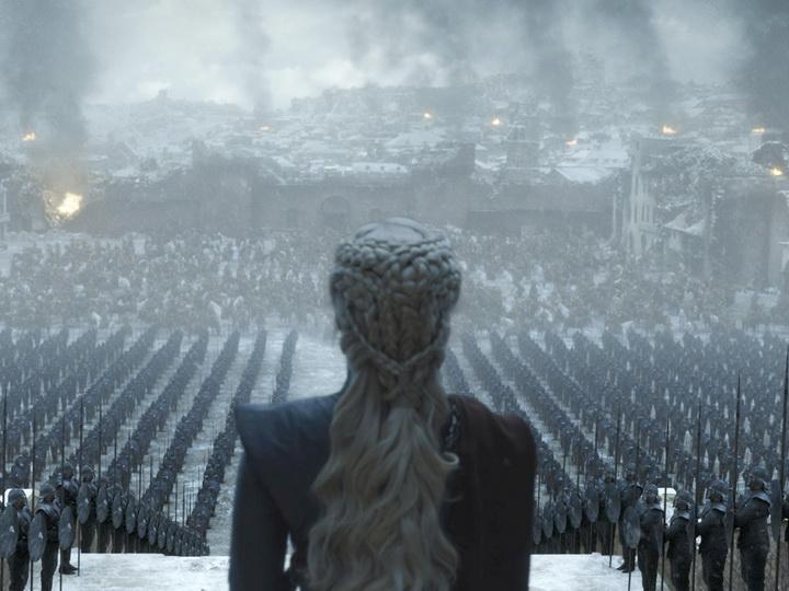 Королева руин: канал HBO показал промокадры заключительной серии «Игры престолов» - ФОТО