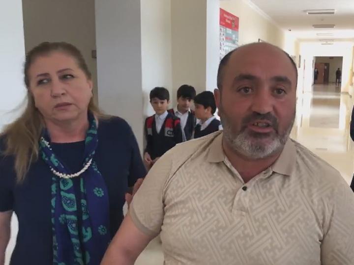 Отец пятиклассницы, совершившей попытку суицида, и журналисты устроили дебош в школе - ВИДЕО