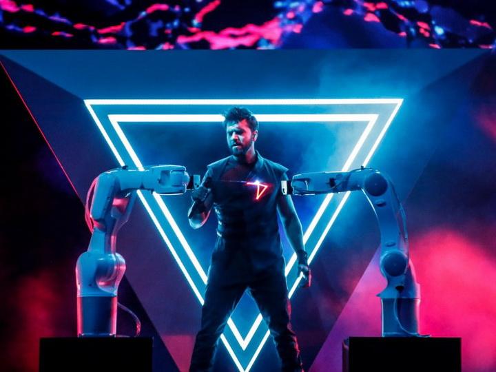 Полуфинальное выступление Чингиза Мустафаева: мугам вновь прозвучал на «Евровидении» - ВИДЕО