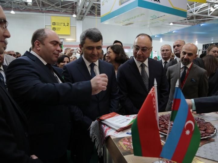 Масштабная белорусская экспозиция представлена на выставке в Азербайджане - ФОТО