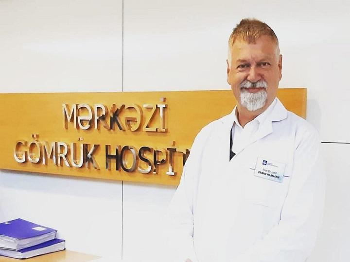 Frenk Haamann: Yaxın gələcəkdə antibiotiklərdən infeksiyaya qarşı uğurla istifadə edə bilməyəcəyik