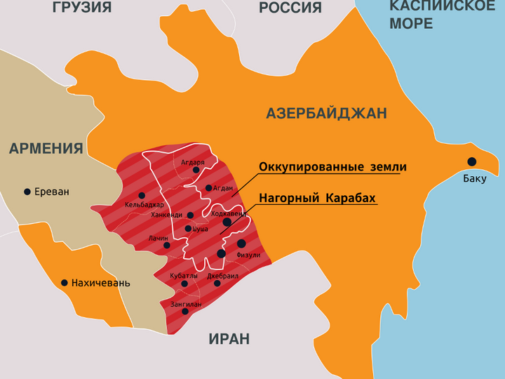 Карабахские сепаратисты не знают, как возобновить «связи» с Россией - ФОТО