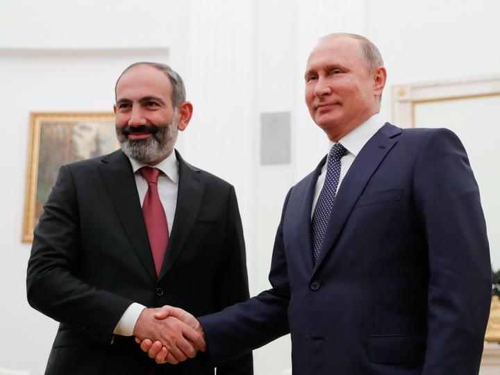 Пашинян встретится с Путиным