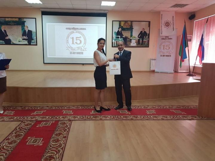 Азербайджанская делегация приняла участие в ряде мероприятий по случаю дня рождения Гейдара Алиева - ФОТО