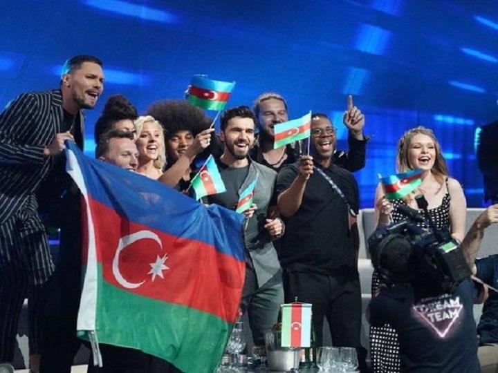 """Azərbaycan """"Eurovision""""un finalında– VİDEO"""
