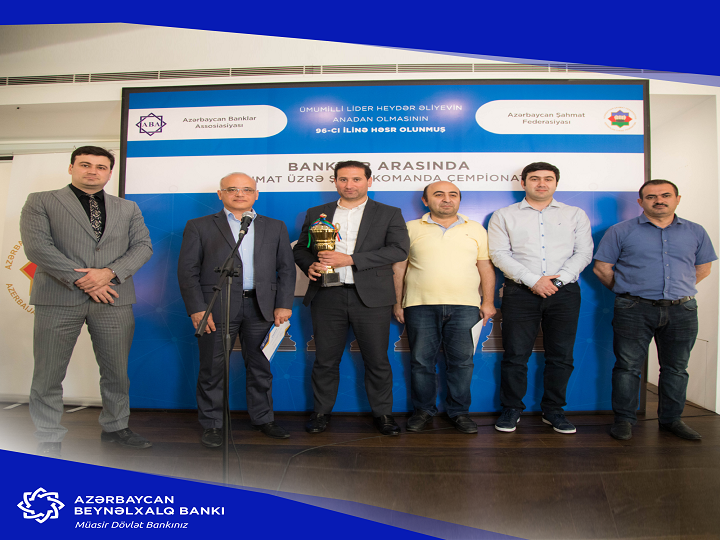 Azərbaycan Beynəlxalq Bankı şahmat turnirində qalib oldu