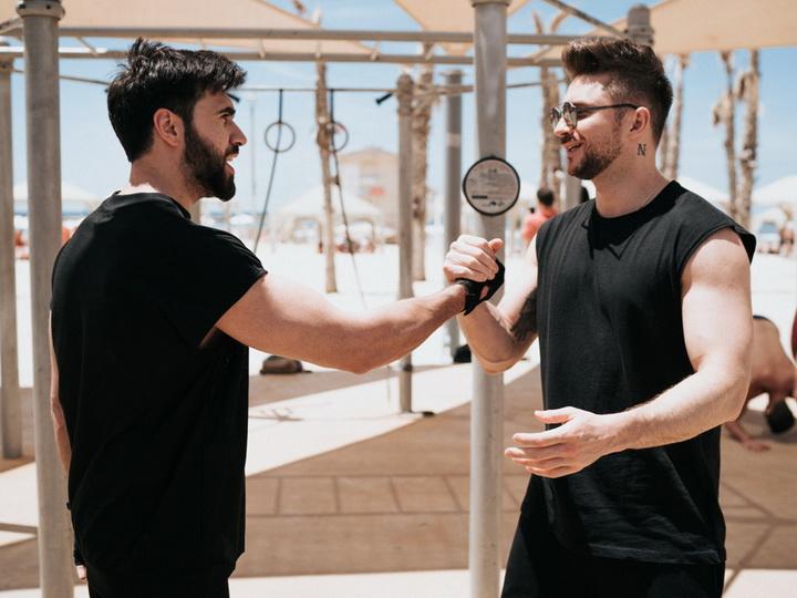 Чингиз Мустафаев и Сергей Лазарев провели совместную спортивную тренировку в Тель-Авиве – ФОТО – ВИДЕО