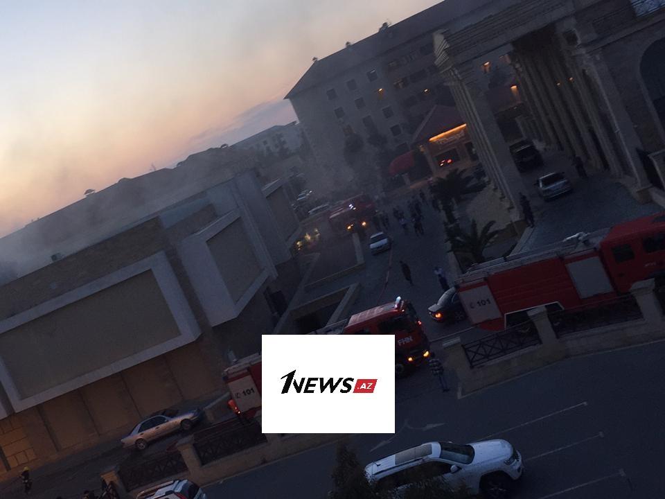 Сильный пожар в торговом центре в Баку потушен - ФОТО - ВИДЕО - ОБНОВЛЕНО