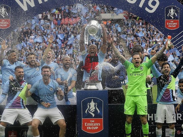 «Манчестер Сити» выиграл Кубок Англии - ФОТО - ВИДЕО