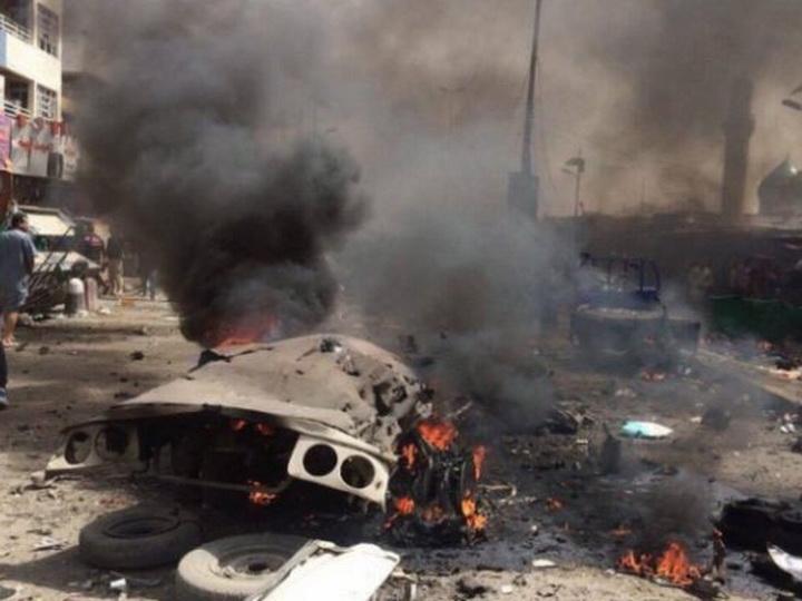 В Багдаде возле посольства США прогремел взрыв