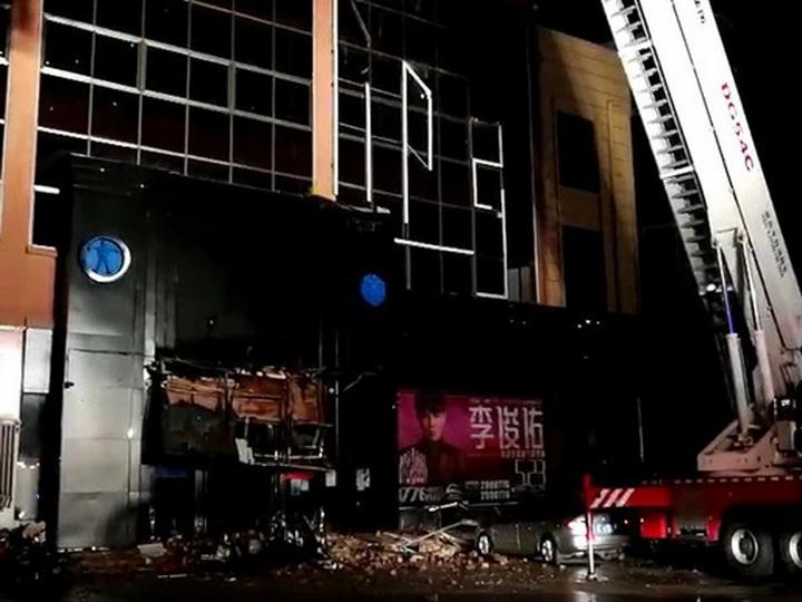 В Китае более 70 человек пострадали при обрушении бара - ФОТО