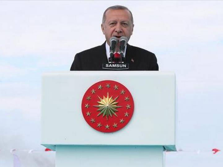 Эрдоган: Даже на самую большую измену мы ответили лишь переселением